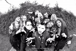"It's the ""Zombie Watusi"" Video Dance Crew. To All of You, THANK YOU !!! Pic by David V Chi"